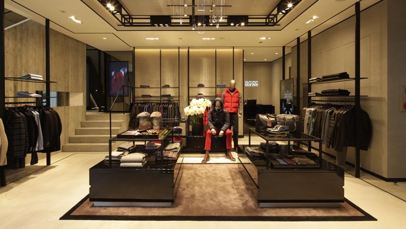 hugo boss store in new york. Black Bedroom Furniture Sets. Home Design Ideas