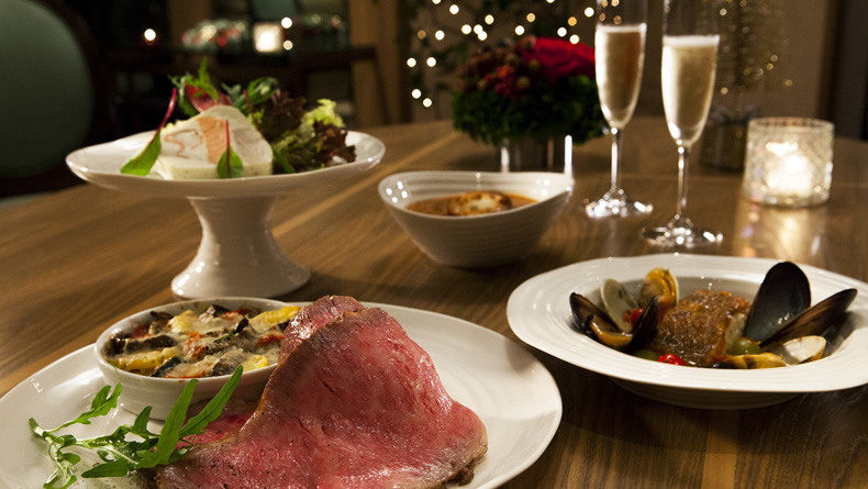 A gourmet holiday meal at home from the park hyatt tokyo for Gourmet meals to make at home