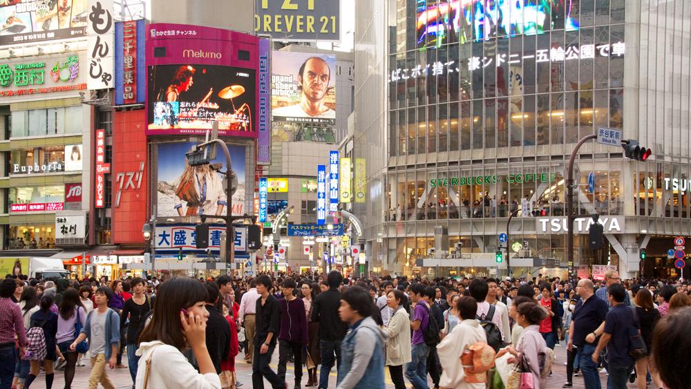 Shibuya by Yoshikazu Takada cropped