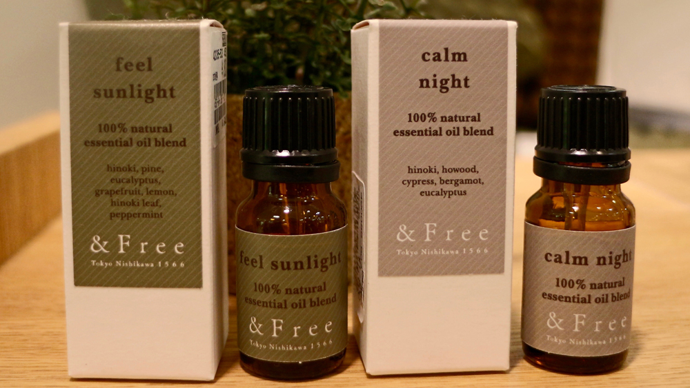 &Free scent oil and spray