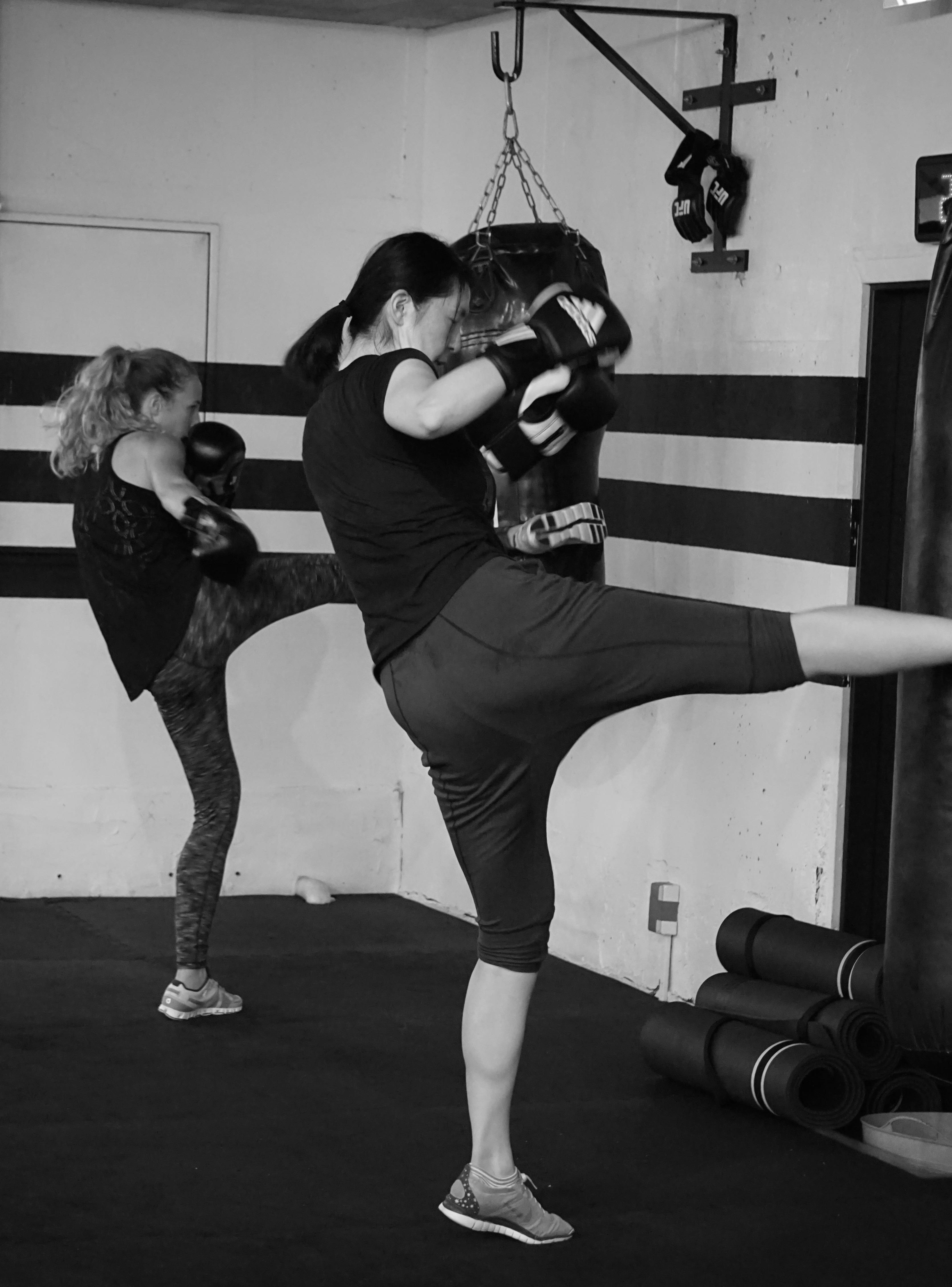 Kickboxing in Tokyo