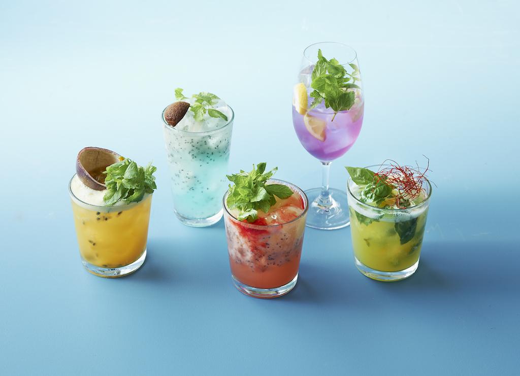 Longrain cocktails