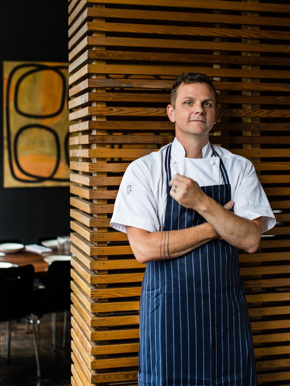 Longrain's executive chef Griff Pamment.