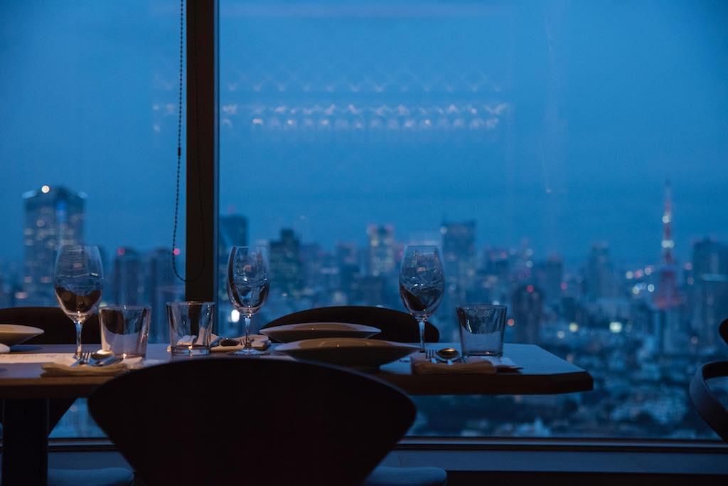 Longrain Tokyo view