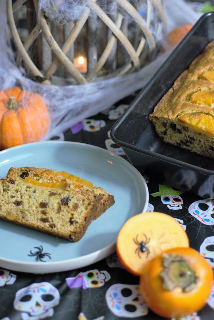 Cake With Fruit Soaked In Tea : Recipe: Halloween Kaki Fruit Cake - Savvy Tokyo