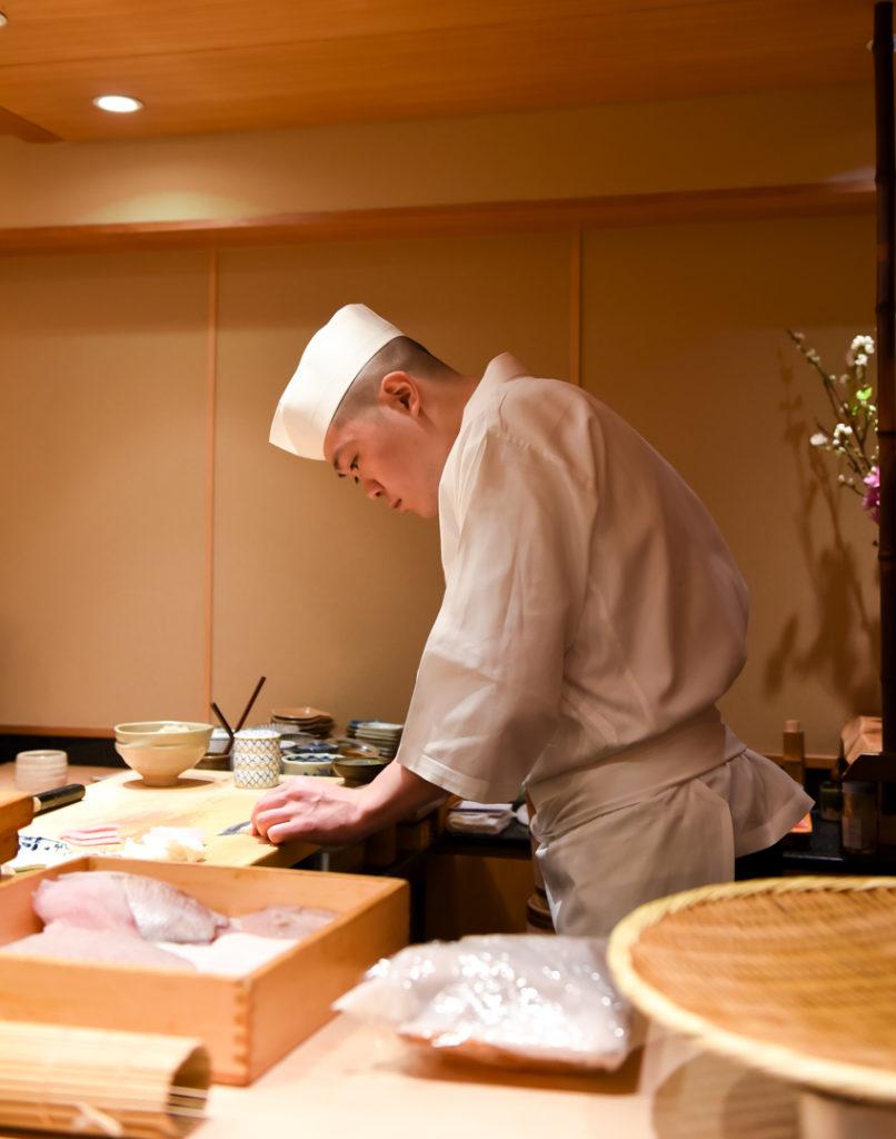 Sushi Restaurant Ginza Tokyo