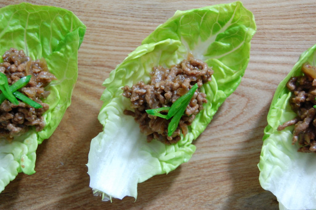 Japanese dinner party recipe teriyaki beef mince canap for Canape ingredients