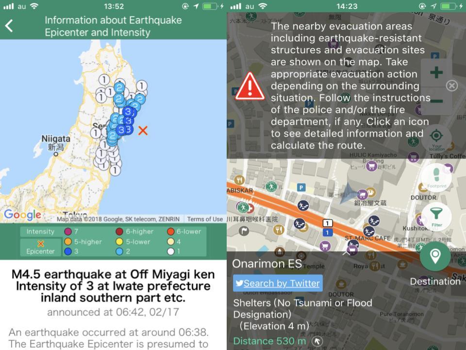 Pocket Shelter Early Earthquake Warning